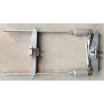 悬式绝缘子更换器 钢管梯车 绝缘梯车