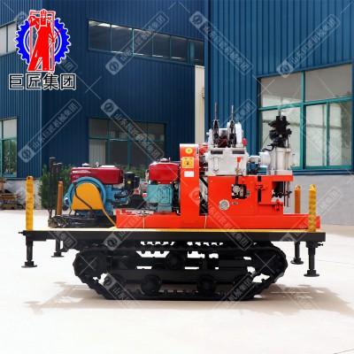 华夏巨匠YQZD-30履带式液压轻便钻机 30米岩芯取样设备
