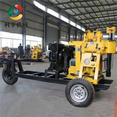 利亨供应XYX-130轮式水井钻机 地质勘探液压钻机
