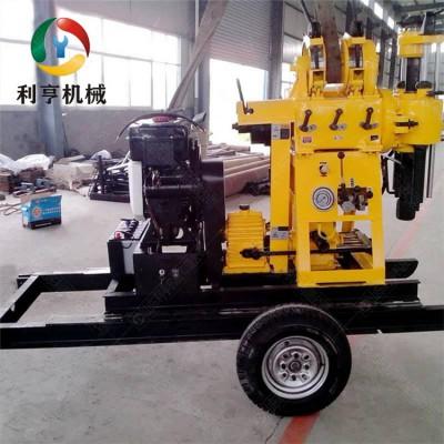 利亨供应XYX-200轮式液压钻机 轻便岩心取样钻机