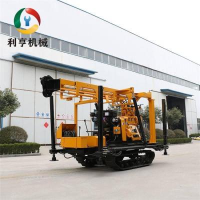 利亨供应XYD-200履带液压岩芯钻机  200型水井钻机