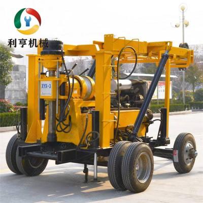 供应XYX-3轮式水井钻机 600米液压勘探钻机