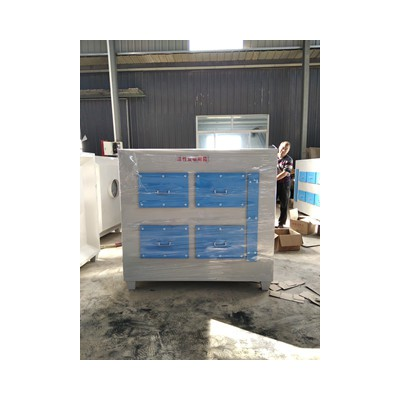 活性炭吸附箱 活性炭箱 有机废气处理箱 一万风量废气处理设备