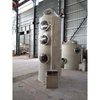 PP喷淋塔 喷漆房废气处理设备 脱硫除尘酸雾净化塔 乐迪环保
