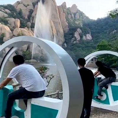 都匀市网红自行车喷泉在当地受欢迎程度 山东三喜