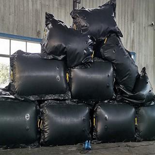 矿用充气气垛 涂覆布气囊 重量轻易携带