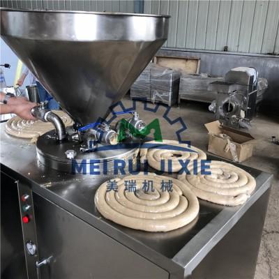 全自动火腿肠灌肠生产线 香肠制作设备 红肠机器设备